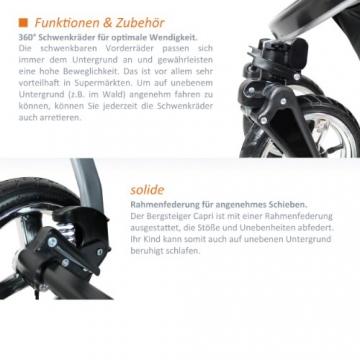 Bergsteiger Capri Kombikinderwagen 3-in-1 - System -