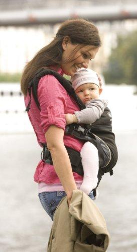 Schwarz Baby Und Kindertrage Bauch- Rücken- Und Hüfttrage