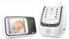 NUK 10256296 - Babyphone Eco Control+ Video, Full Eco Mode 100% frei von hochfrequenter Strahlung im Stand-by, Nachtsichtfunktion, Temperatursensor, Schlaflieder -