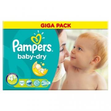 Pampers Baby Dry Gr.4+ Maxi Plus 9-20kg Gigapack 111 Stück -