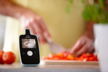 Philips Avent SCD603/00 Video Babyphone (Farbdisplay & Nachtsichtfunktion) -